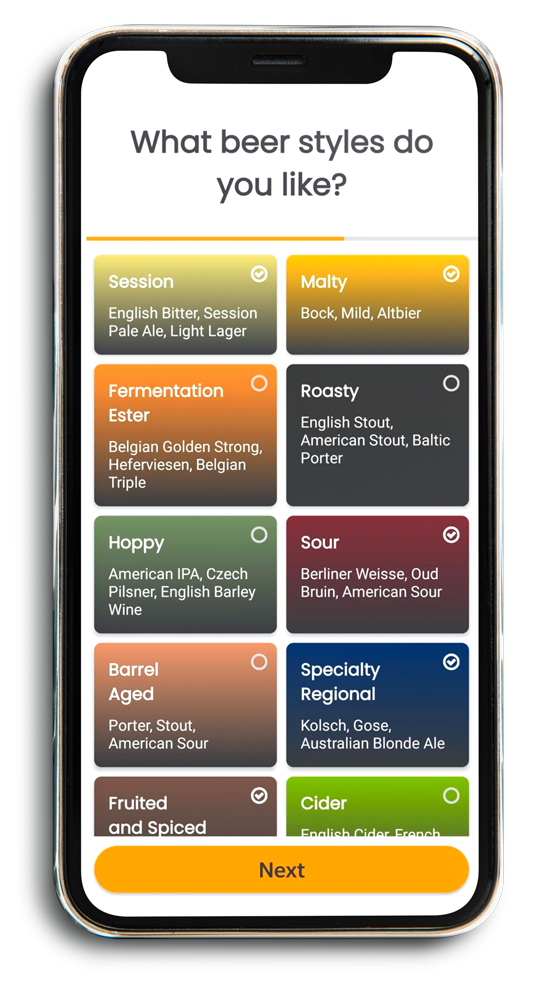 An image to show the Grainfather Community Mobile App