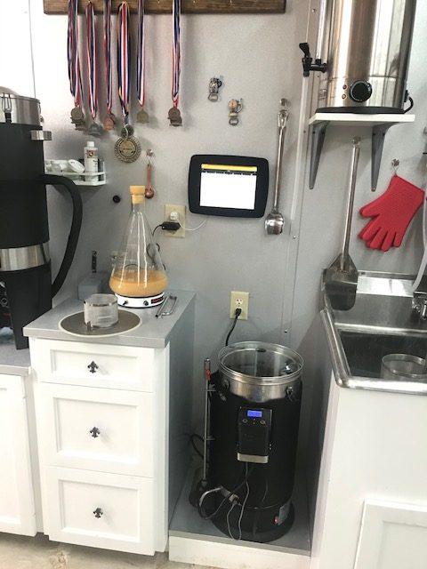 Grainfather G30 at Marfly Brewery