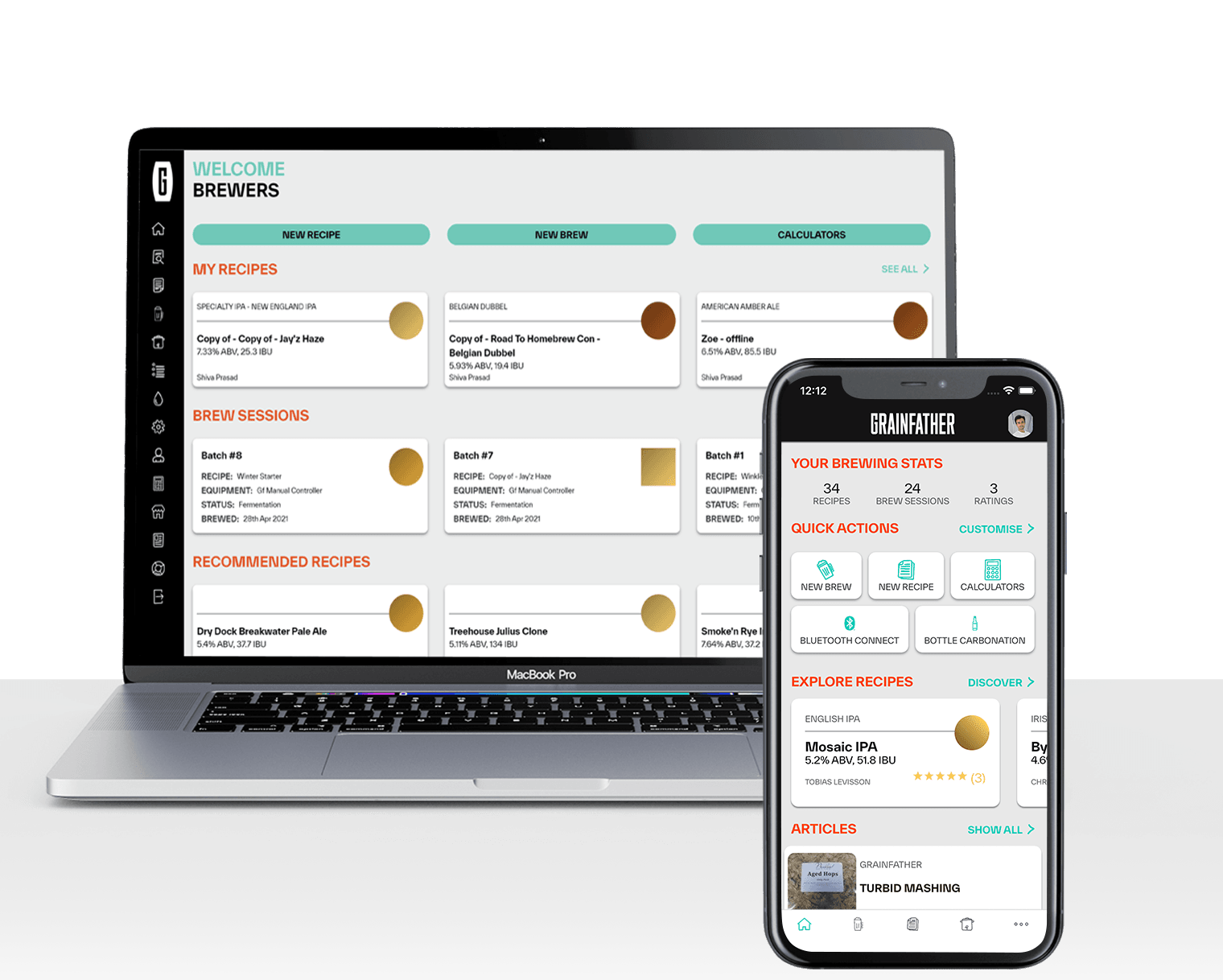 Free Brewing App | Grainfather